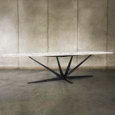 Agave Dining Table - Marble