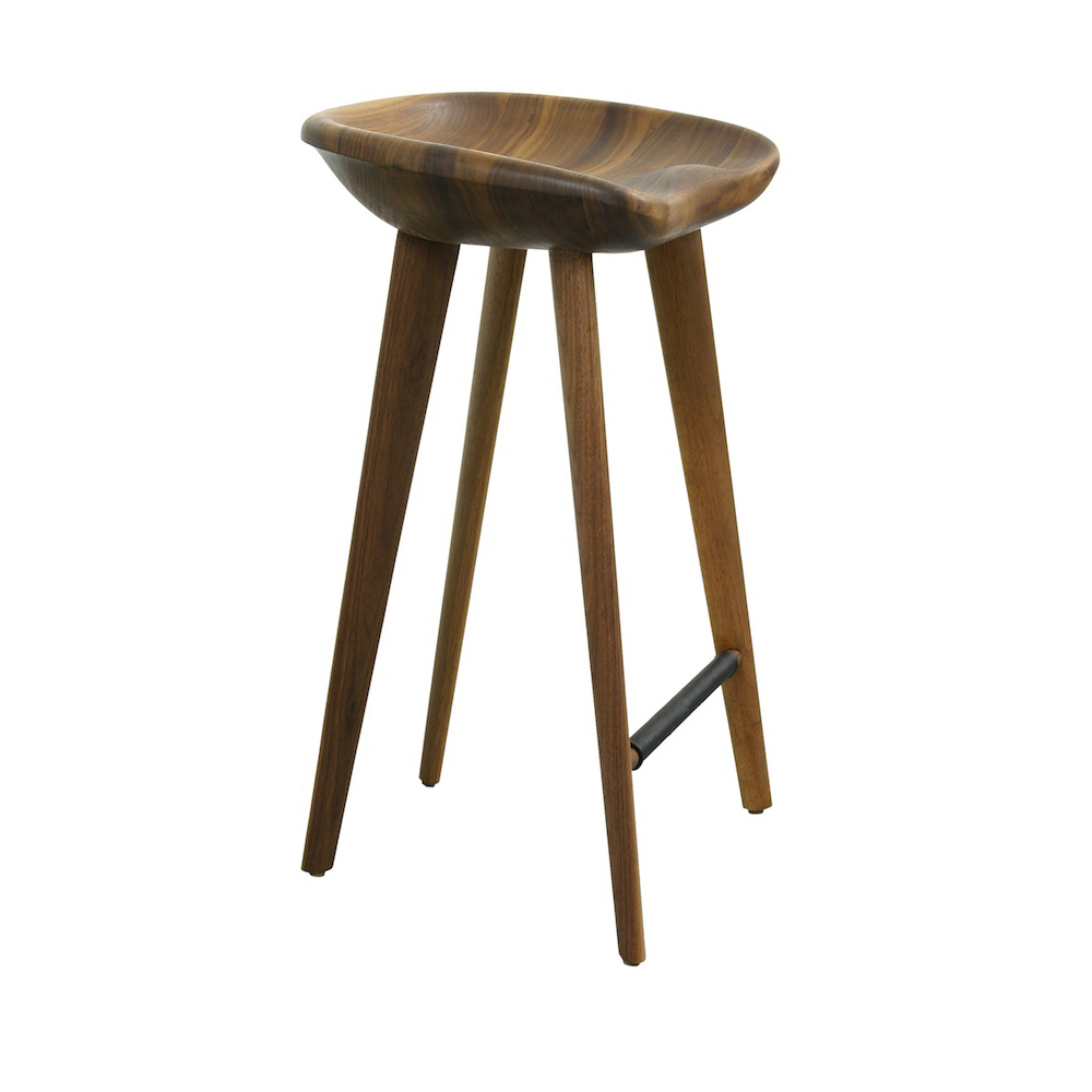 Wood Tractor Seat Bar Stools : Tractor stools bassamfellows suite ny