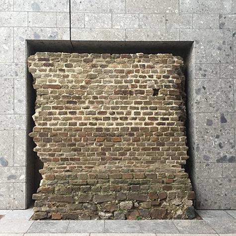Cologne ancient roman wall