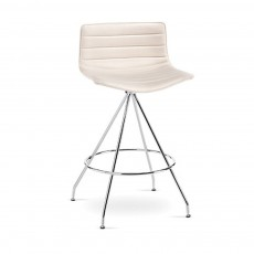 Catifa 46 Low Back Stool - Swivel Base