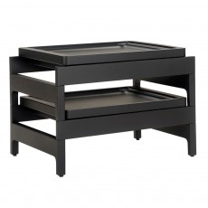 CB-33 Tray Rack Side Table