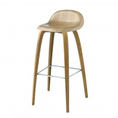 GUBI 3D Stool Wooden Base