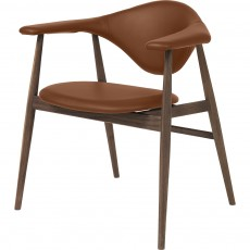 Masculo Dining Chair - Wood Base