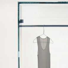 Prism Glass Wardrobe