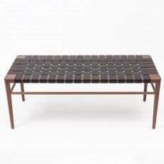 WLB Woven Leather Bench