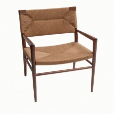 Woven Rush Lounge Chair