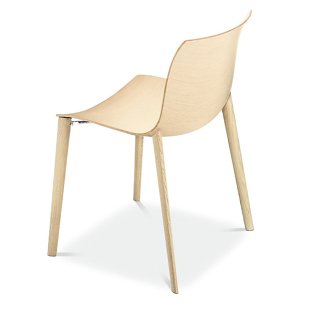 CAtifa 46 Wood Leg Chair Lievore Altherr Molina Arper