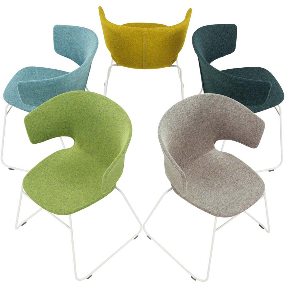Taormina chair collection designed by Alfredo Haberli for Alias