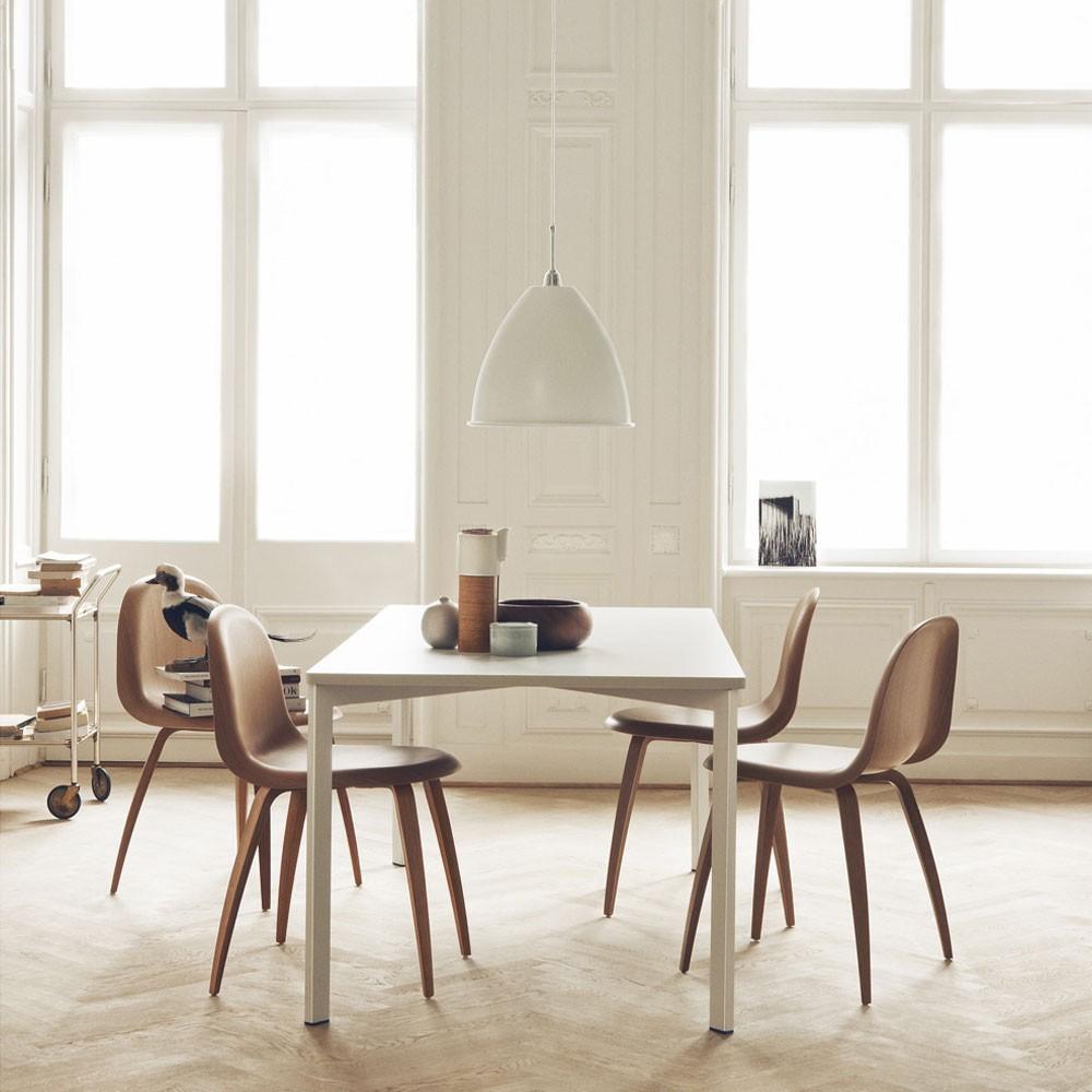 Gubi5 modern wood dining chair KOMPLOT design gubi