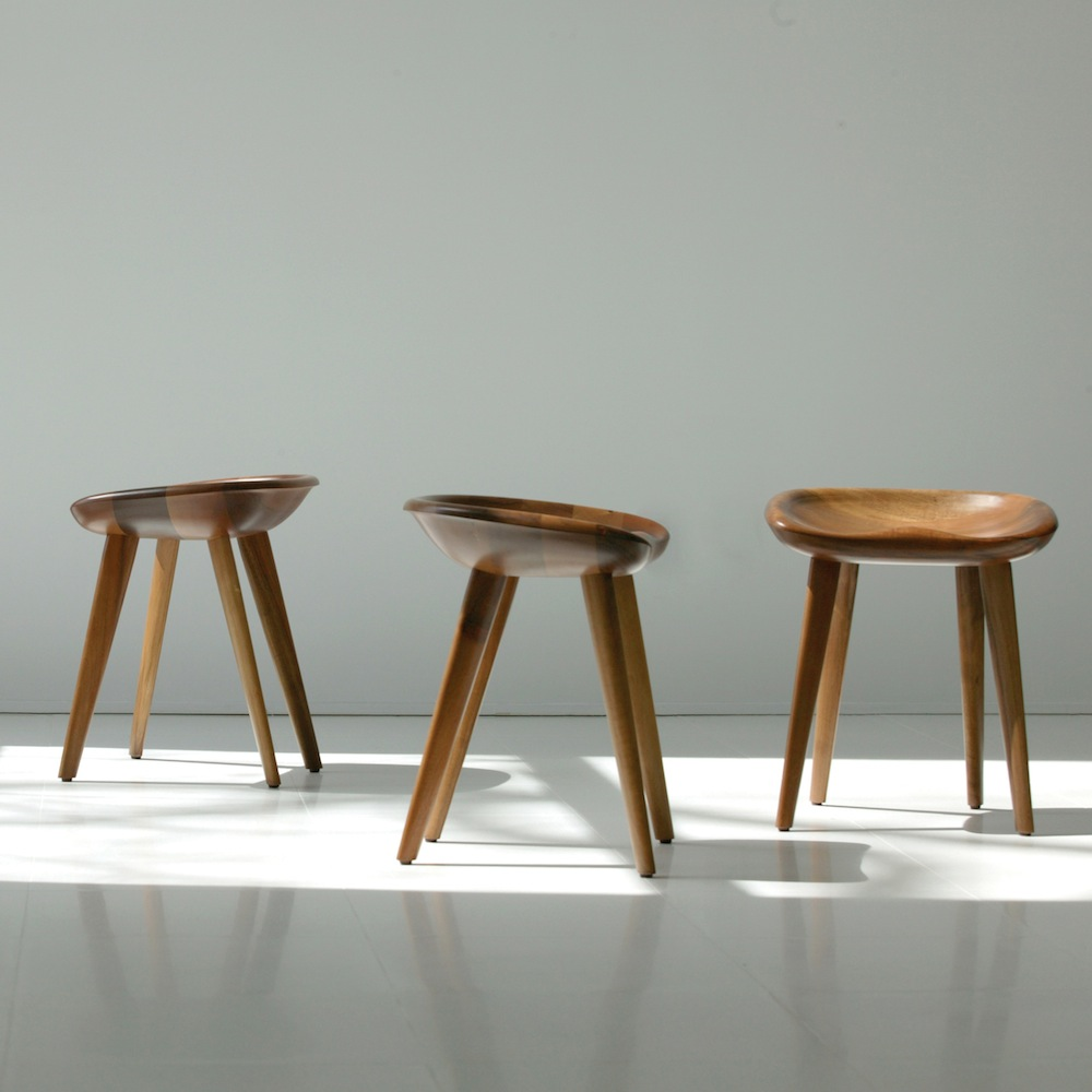 Tractor Stools designed by Craig Bassam and Scott Fellows for BassamFellows
