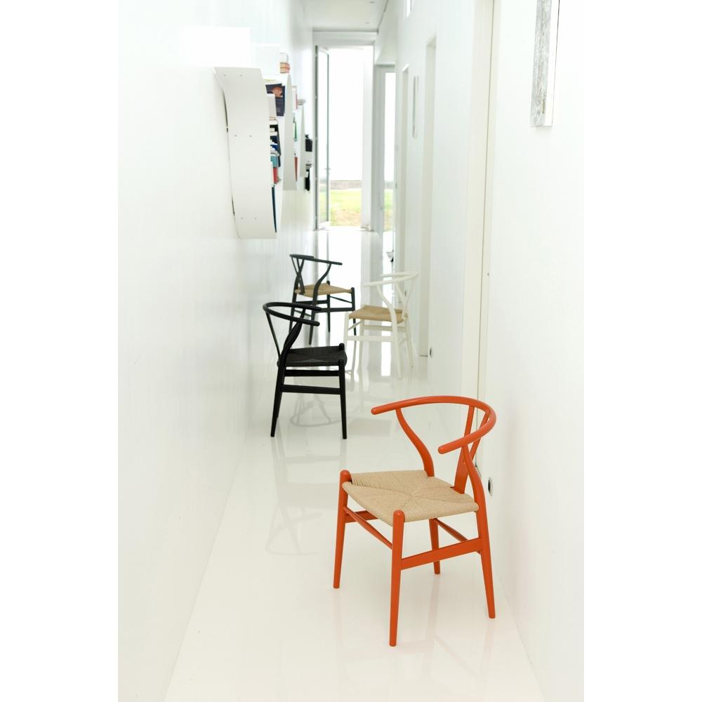 CH24 Wishbone Chair in Beech designed by Hans J. Wegner for Carl Hansen and Son