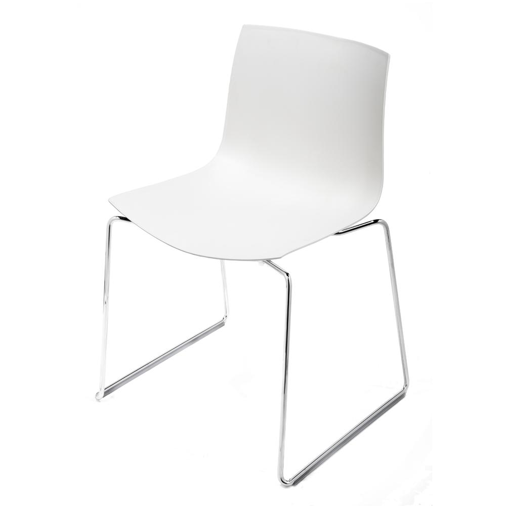 CAtifa 46 Sled Chair Arper white