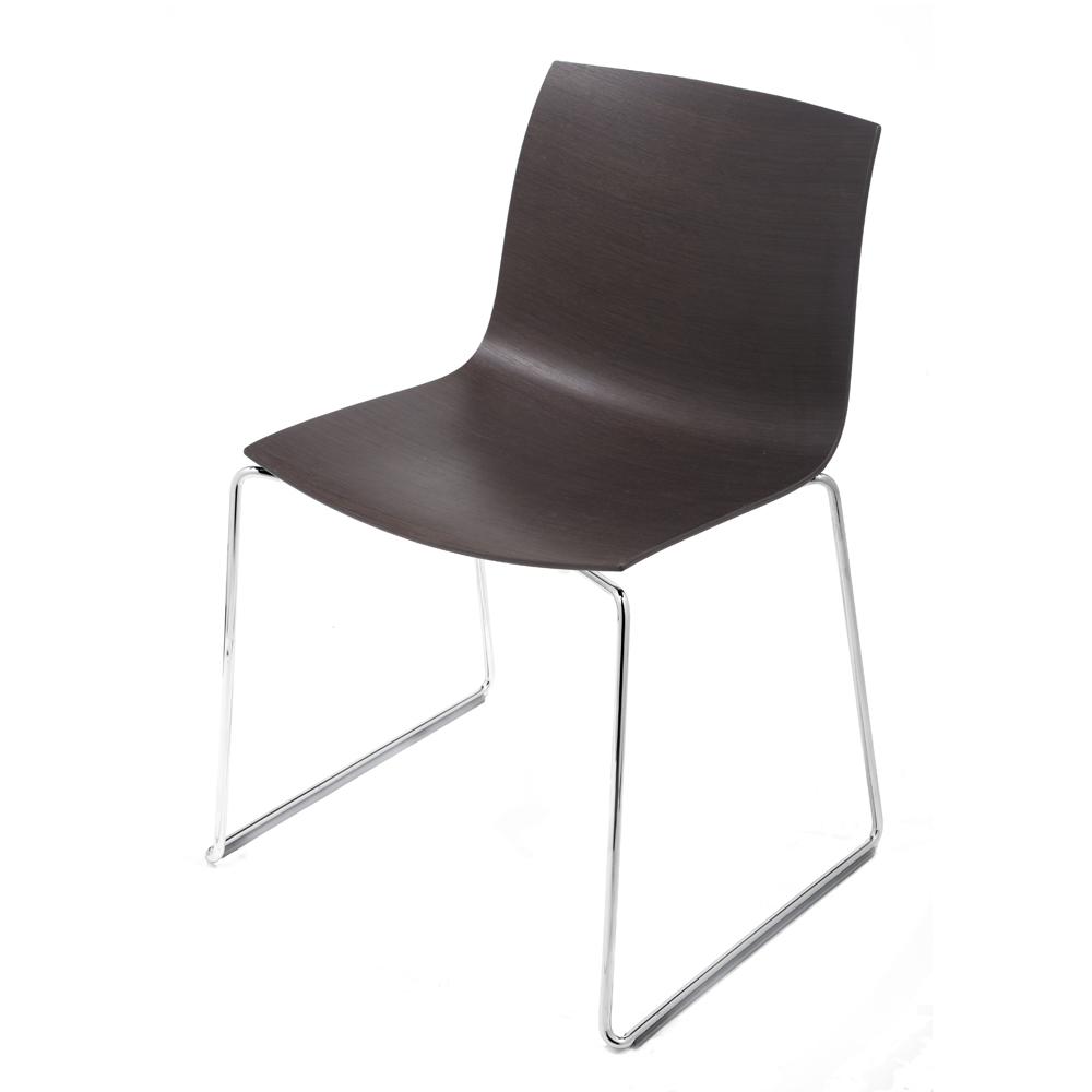 CAtifa 46 Sled Chair Arper black