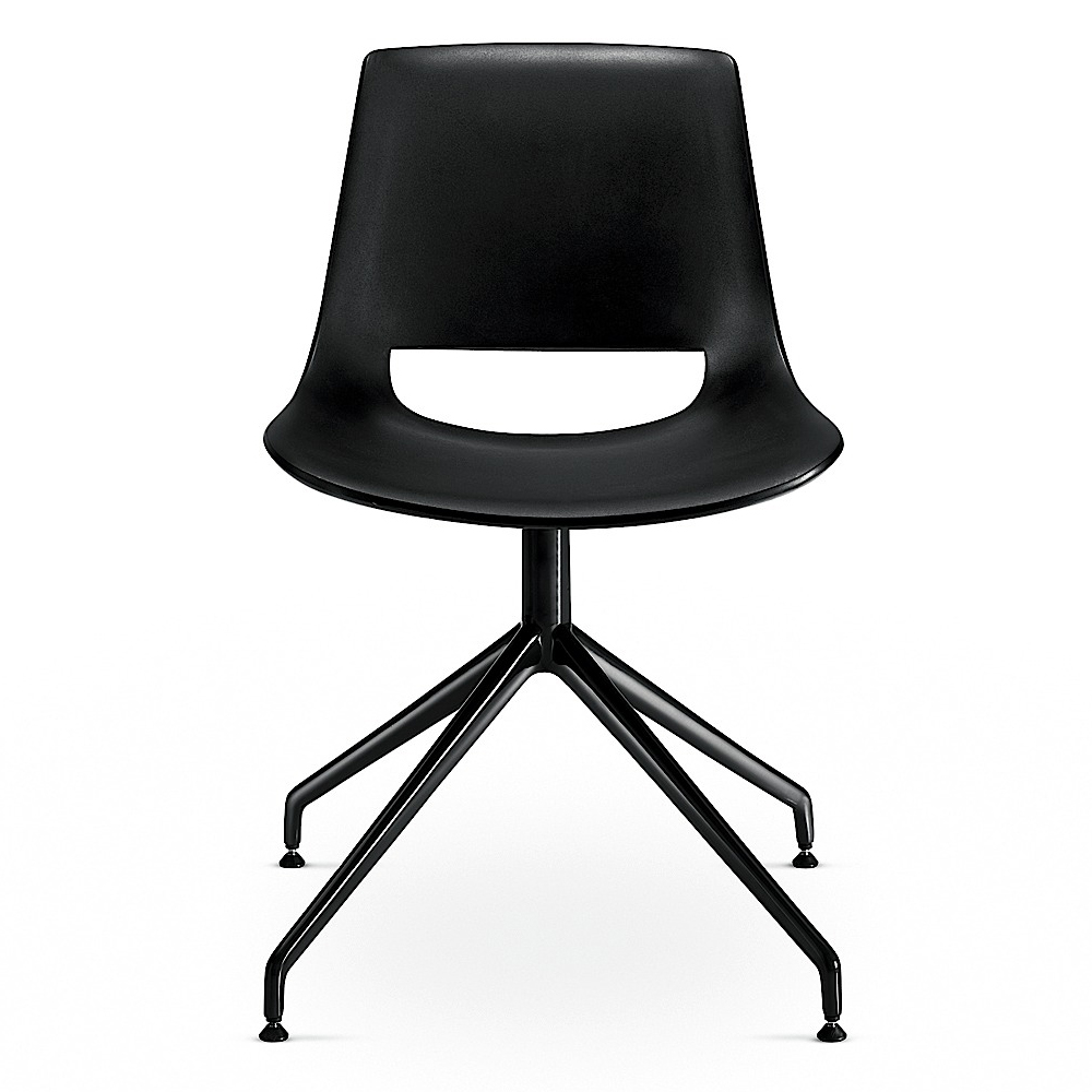 Palm Chair on trestle swivel base designed by Lievore, Altherr, Molina for Arper
