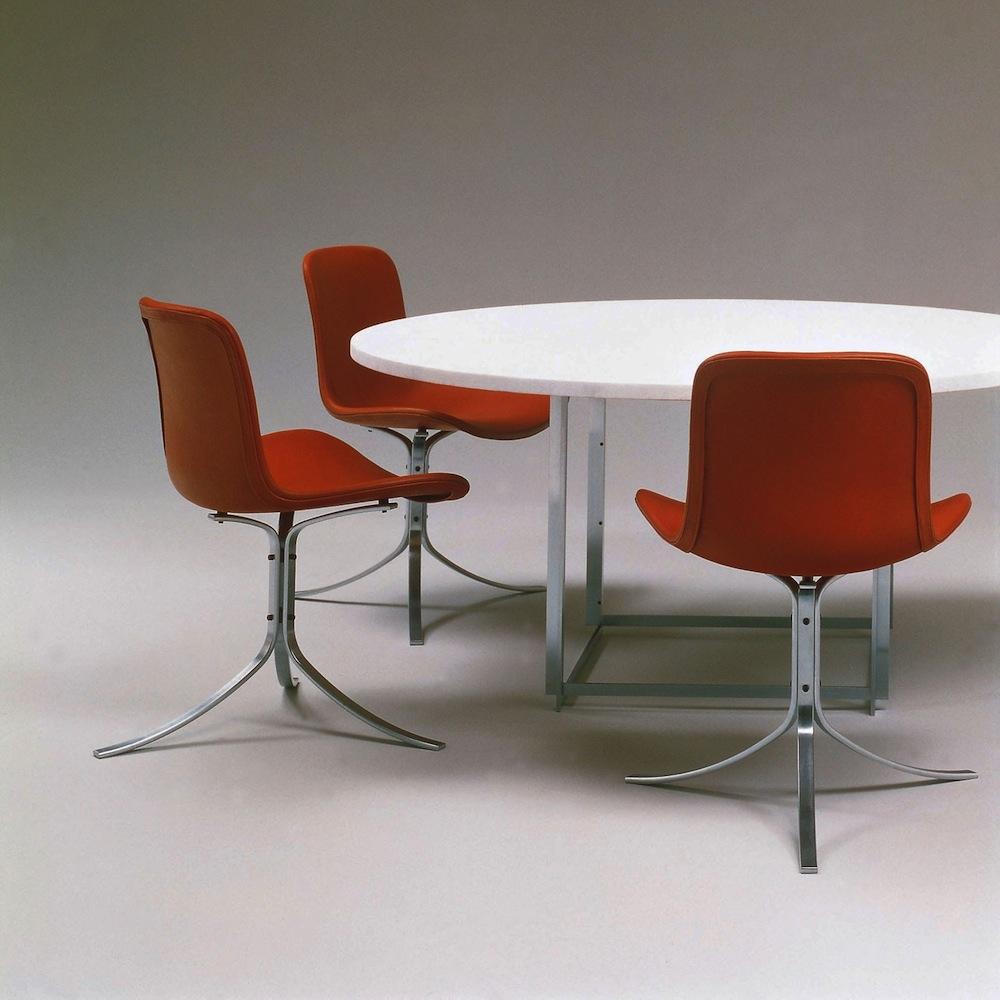 PK54 Table designed by Poul Kjaerholm for Fritz Hansen