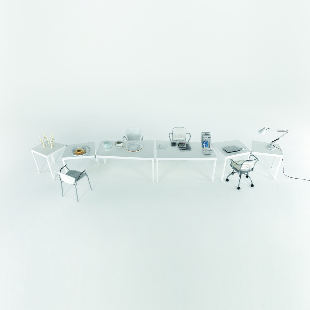 Campo d'Oro table designed by Paolo Pallucco and Mireielle Rivier for De Padova