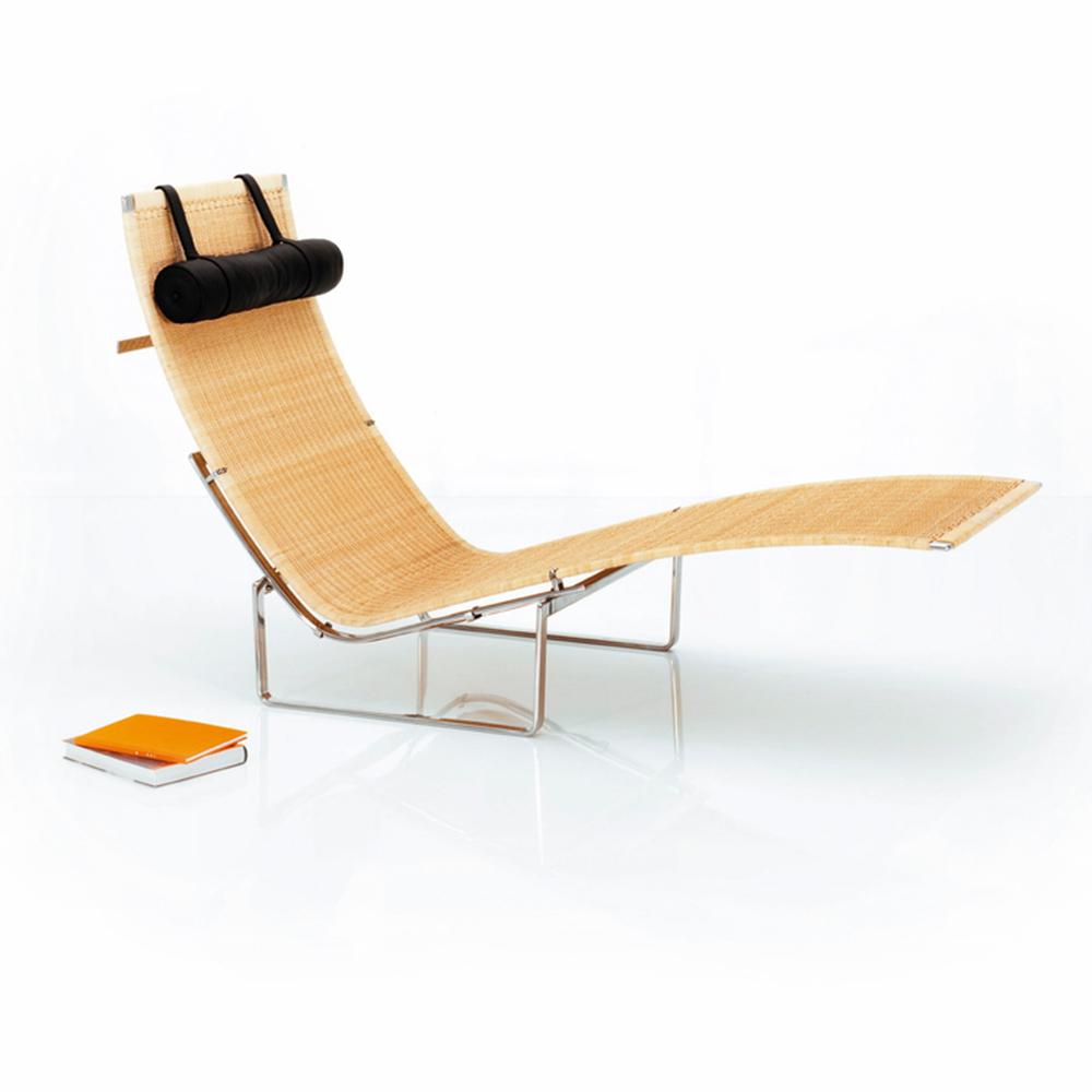 PK24™ lounge designed by Poul Kjaerholm for Fritz Hansen