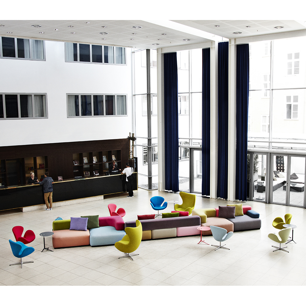 Alphabet Sofa collection designed by Piero Lissoni for Fritz Hansen