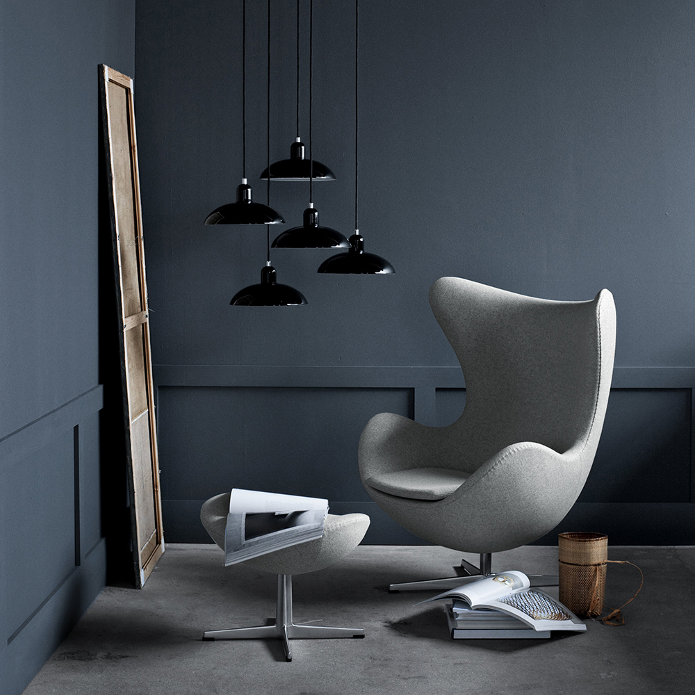 KAISER idell™ 6631-P Pendant Lamp designed by Christian Dell, manufactured by Fritz Hansen.