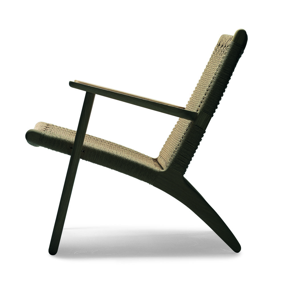 CH25 Easy Chair designed by Hans J. Wegner for Carl Hansen & Son