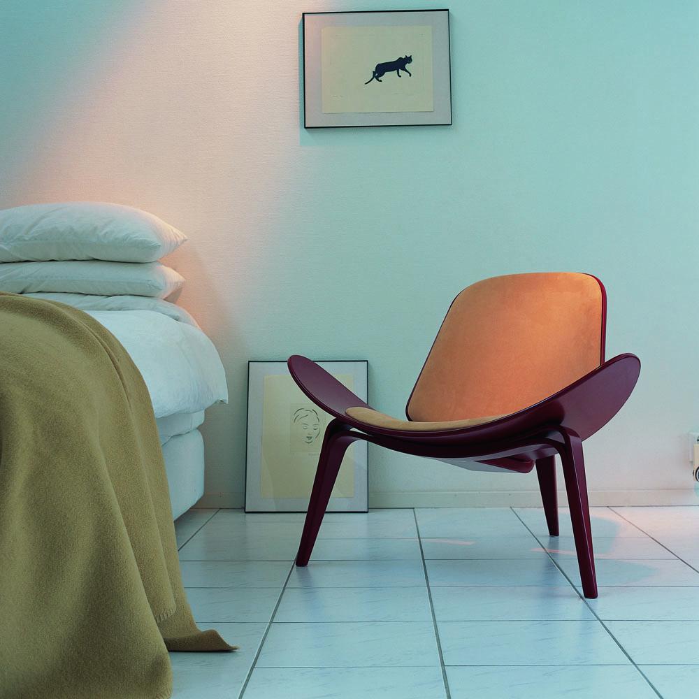 CH07 Shell Chair designed by Hans J. Wegner for Carl Hansen & Son