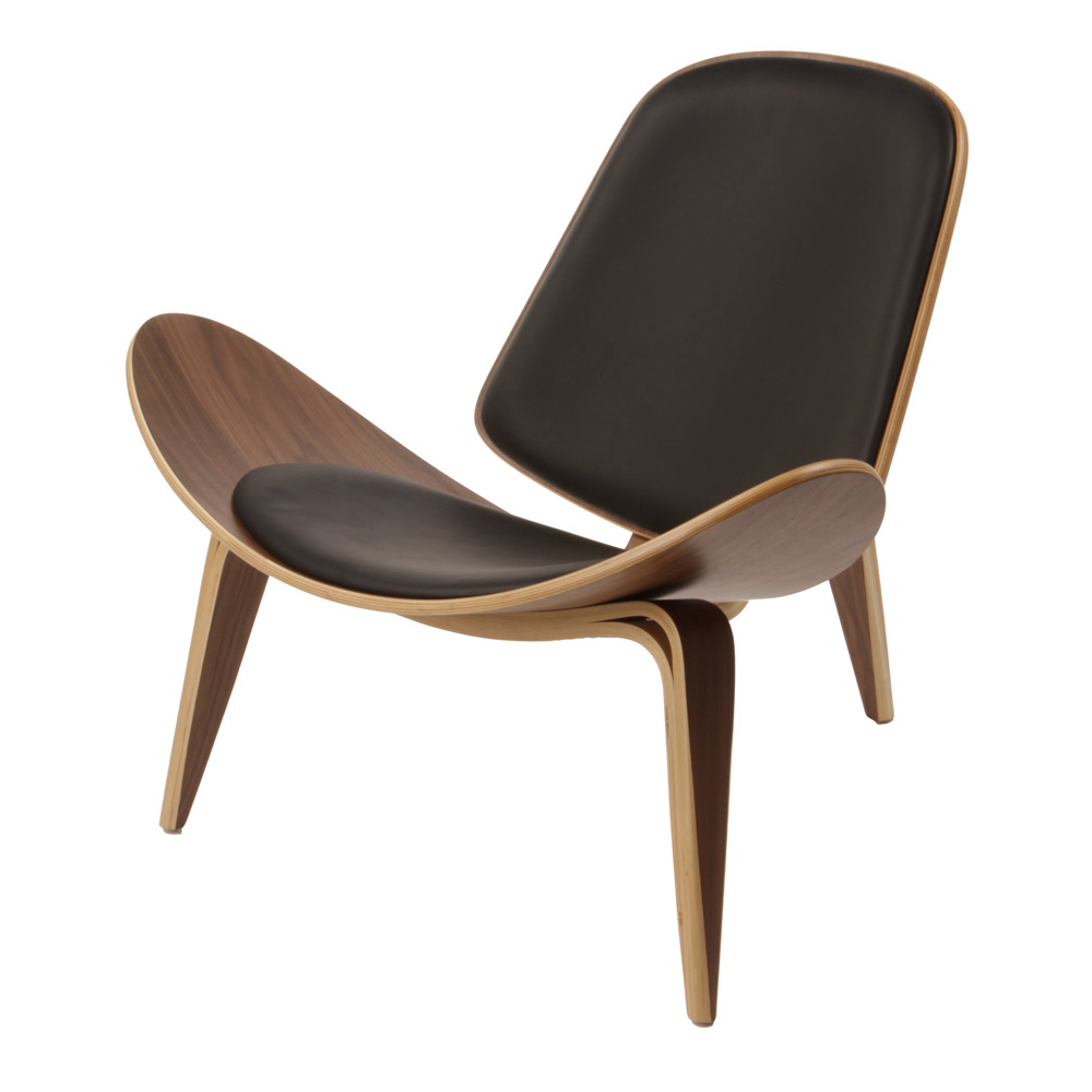ch07 shell chair hans j wegner carl hansen and son suite ny. Black Bedroom Furniture Sets. Home Design Ideas
