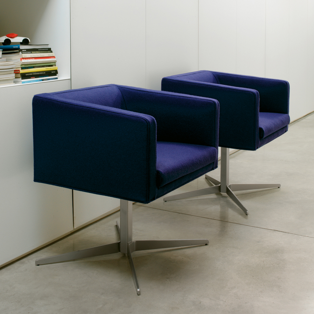 Cubica Armchair designed by Lievore, Altherr, Molina for Verzellioni