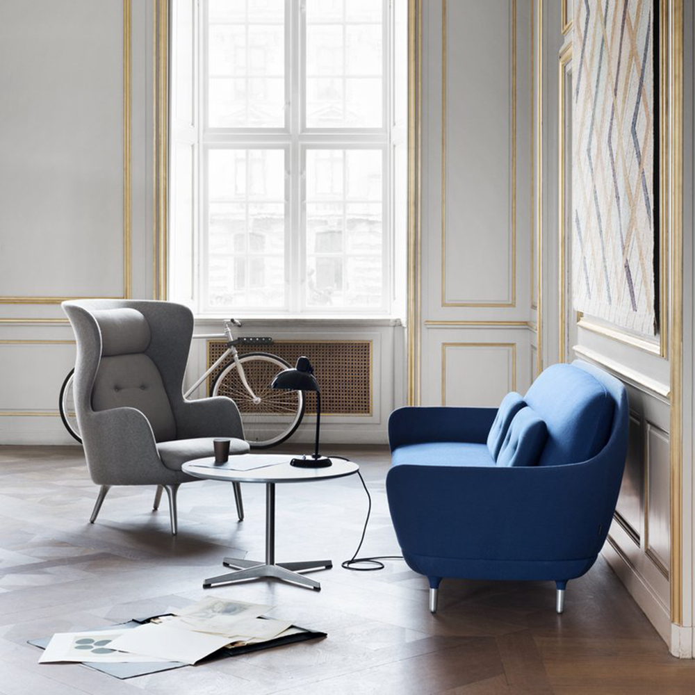 Ro lounge chair designed by Jaime Hayon for Republic of Fritz Hansen