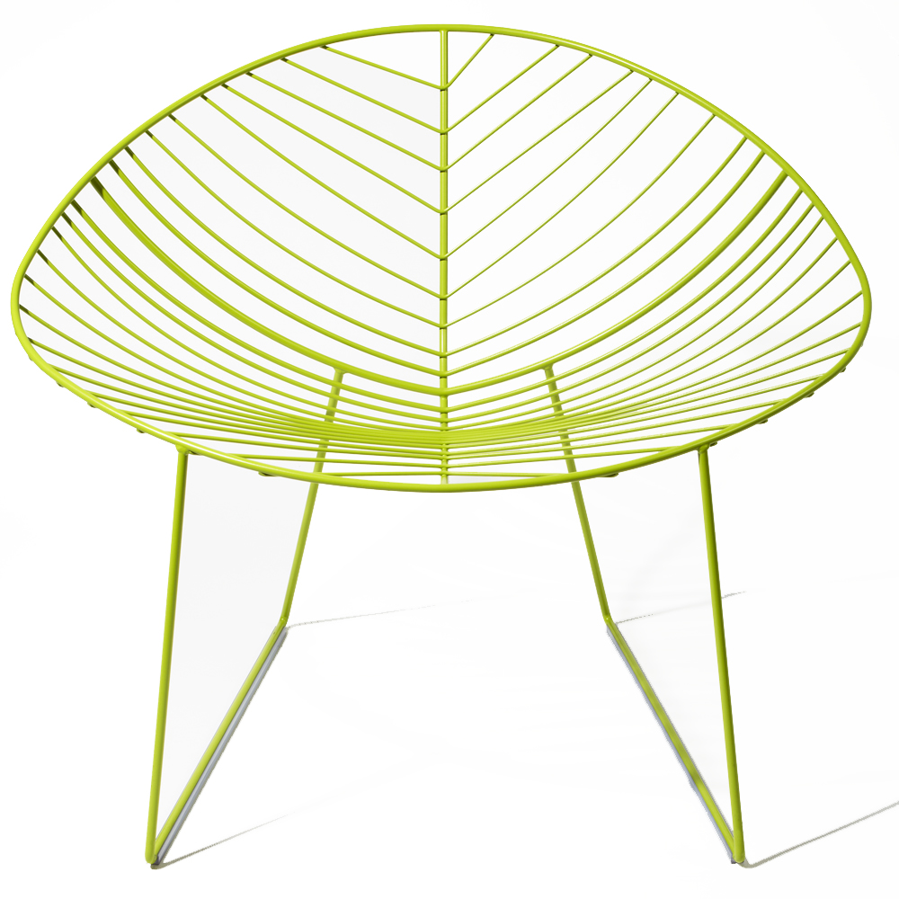 green Leaf Lounger designed by Lievore, Altherr, Molina for Arper