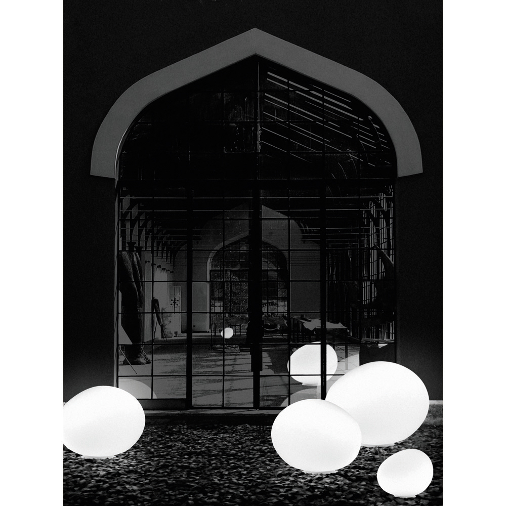 Outdoor Gregg light designed by Ludovica and Roberto Palomba for Foscarini