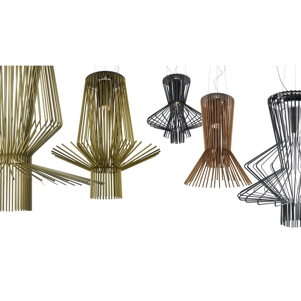 Allegretto suspension lighting Atelier Oi Foscarini italian design aluminum metal shop suite ny