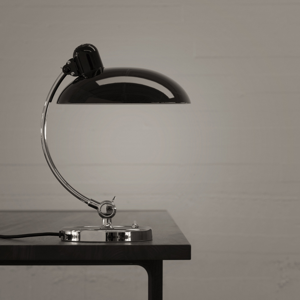 Kaiser Idell 6631 Luxus Table Lamp designed by Christian Dell for Republic of Fritz Hansen