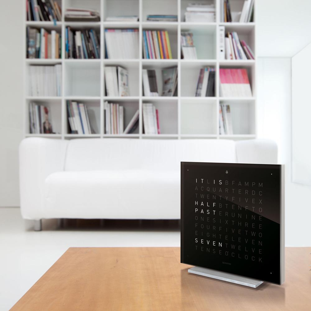 QLOCKTWO Touch alarm clock designed by Biegert & Funk