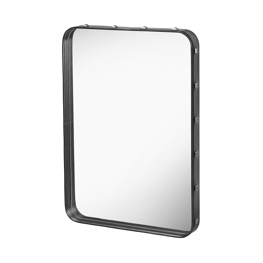 Adnet Rectangular mirror designed by Jacques Adnet, manufactured by Gubi Denmark