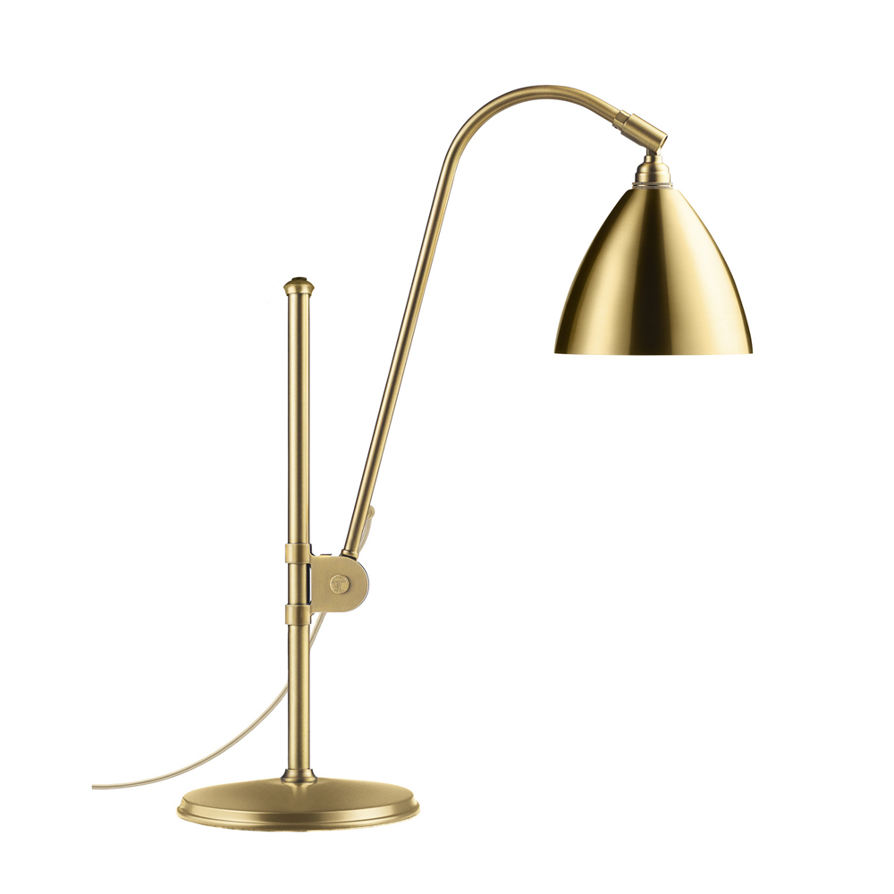 BL1 Table lamp in brass designed by Robert Dudley Best, manufactured by Bestlite, GUBI