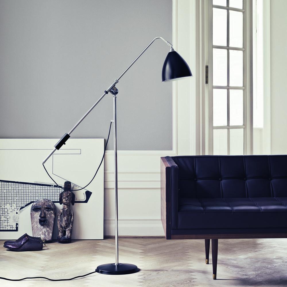 BL4 Floor Lamp designed by Robert Dudley Best, manufactured by Bestlite, GUBI