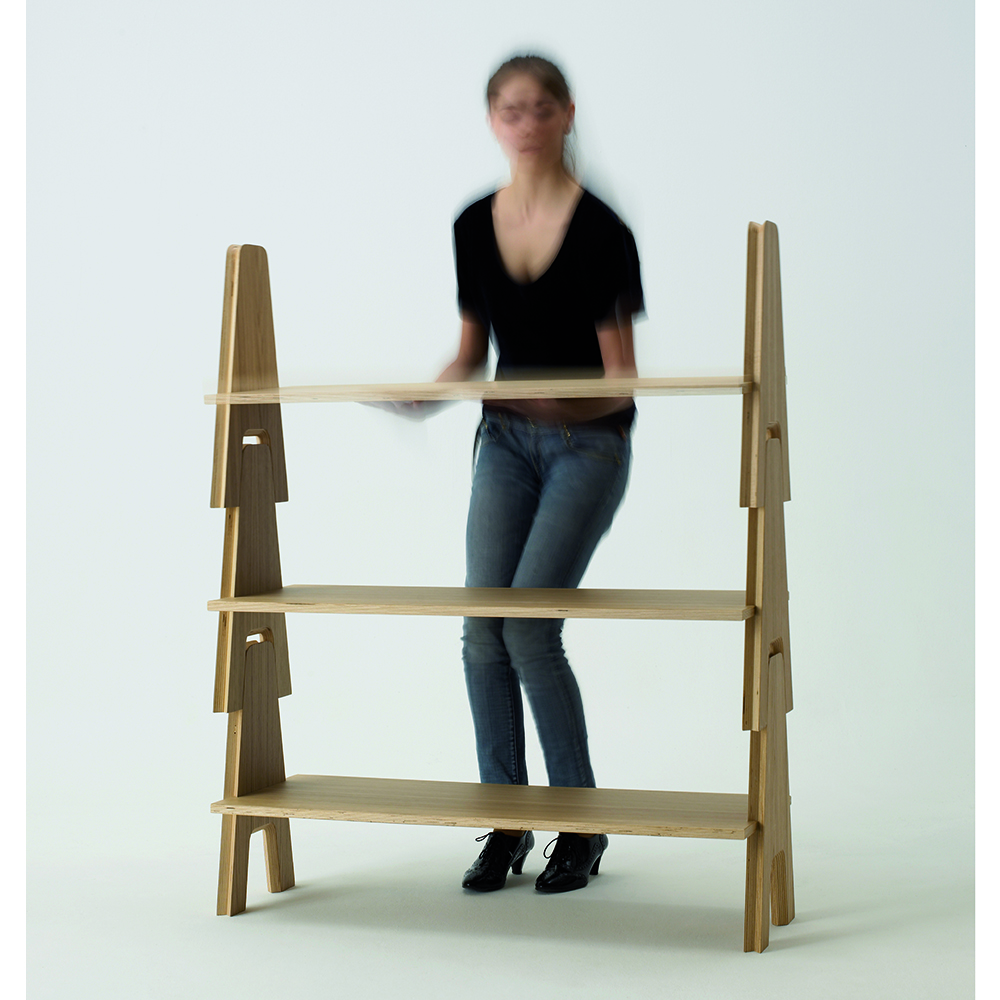 Cavalletto System designed by Angelo Mangiarotti, manufactured by Agape Casa.