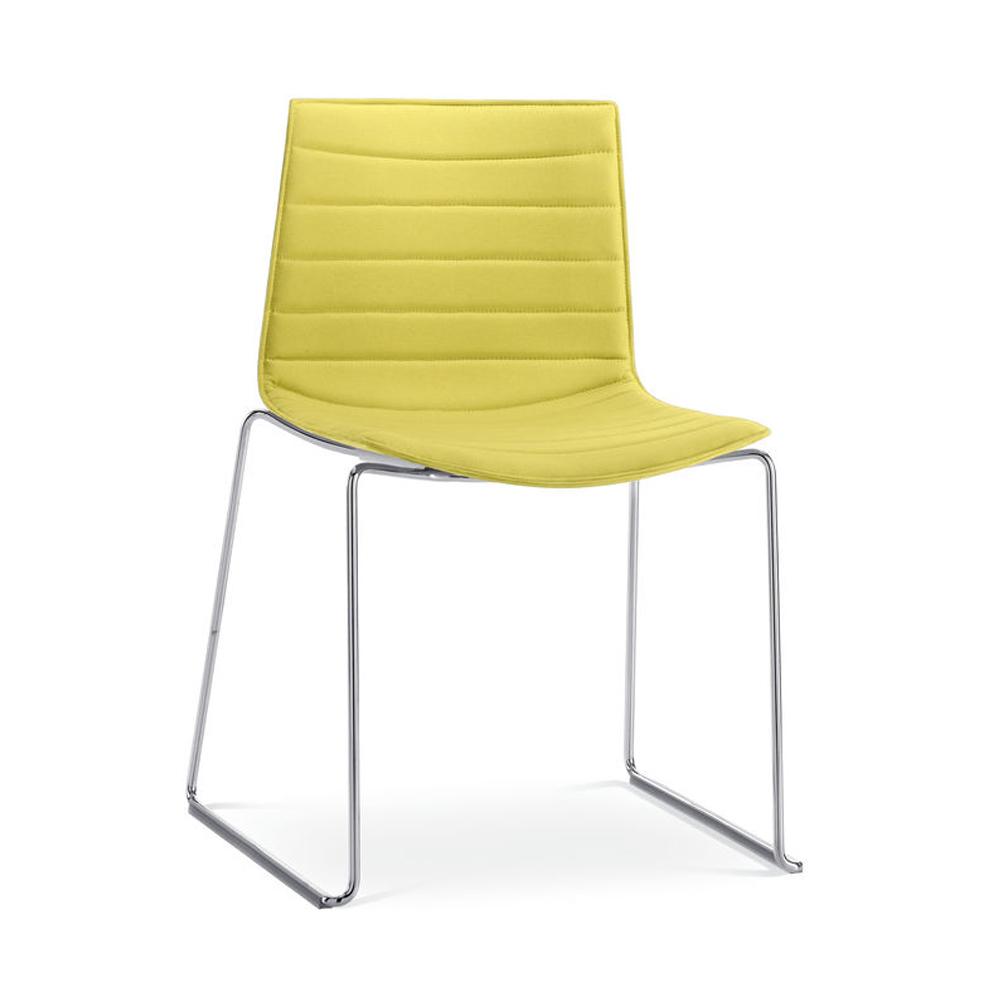 CAtifa 46 Sled Chair Arper yellow