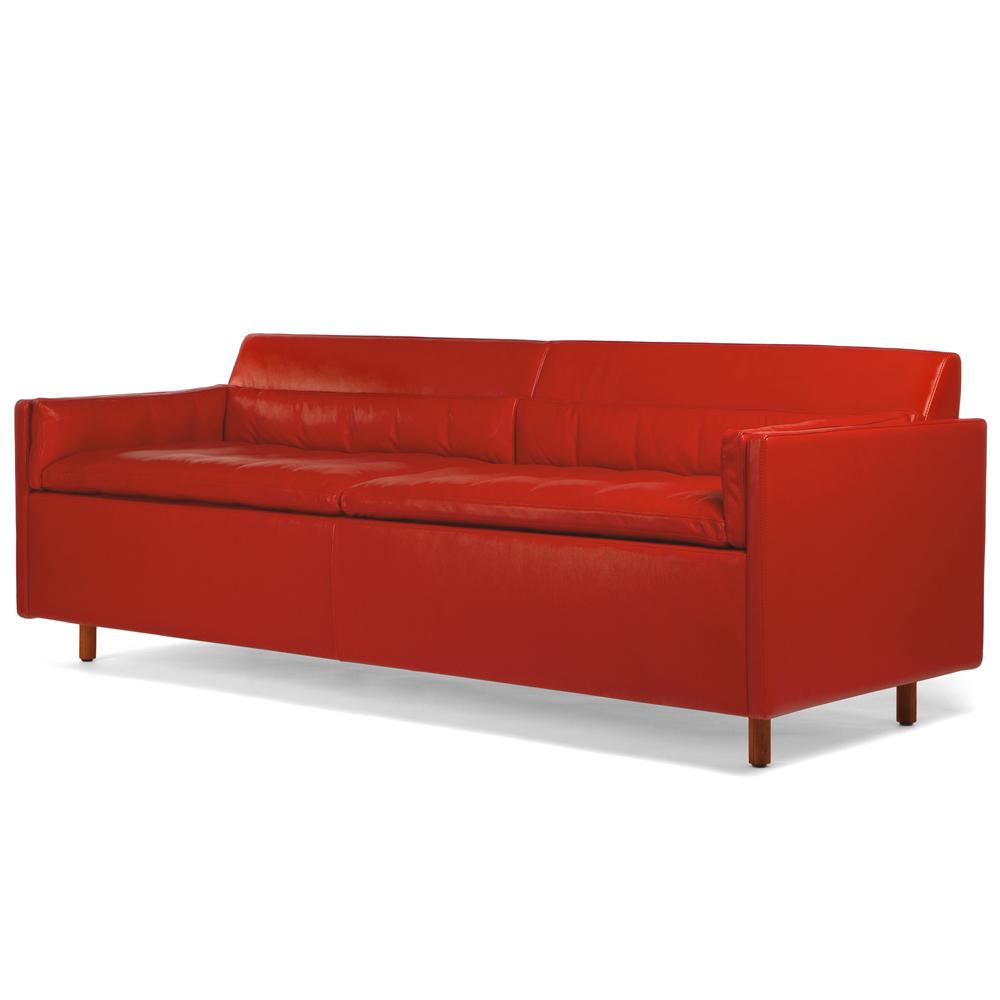 CB-56 Salon Sofa BassamFellows Craig Bassam Scott Fellows modern upholstered couch