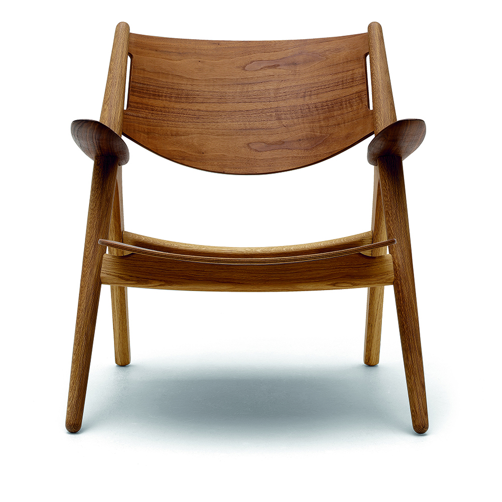 CH28 Lounge Chair designed by Hans J. Wegner for Carl Hansen & Son