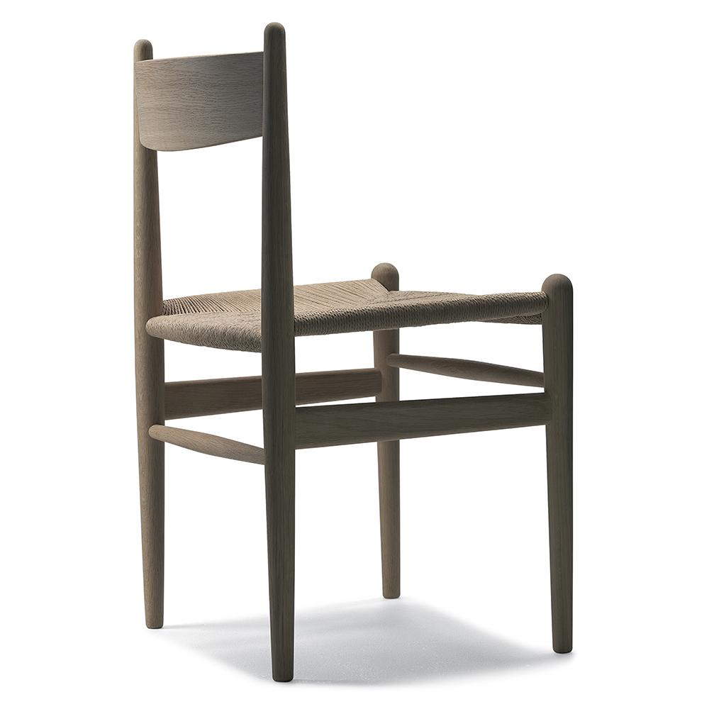 CH36 danish modern Dining chair Hans J. Wegner Carl Hansen and Son woven seat