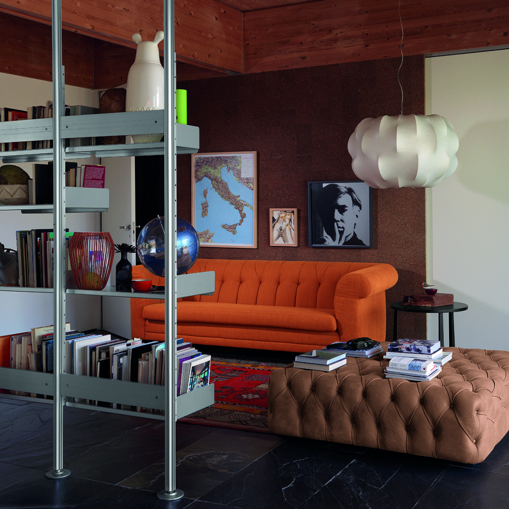 Chesterfield Sofa designed by De Padova, Italy.