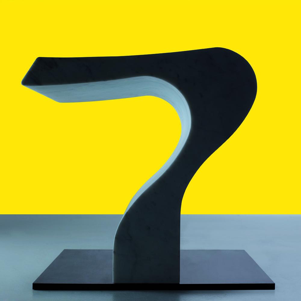 Clizia stool designed by Angelo Mangiarotti for AgapeCasa