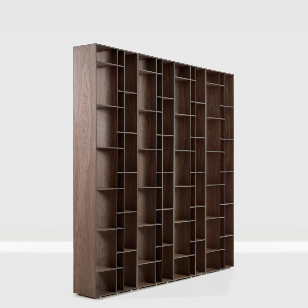 Code shelving system designed by Nana Groner for Zeitraum