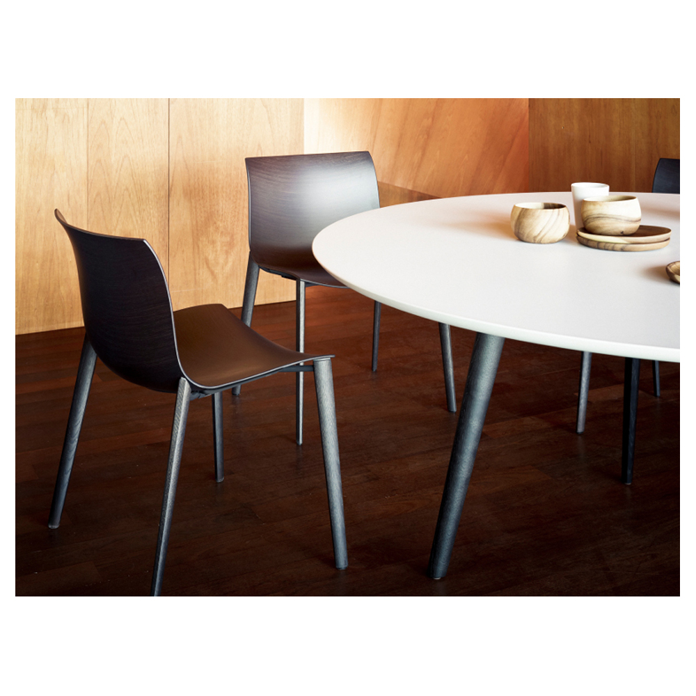 CAtifa 53 Wood Leg Chair Lievore Altherr Molina Arper