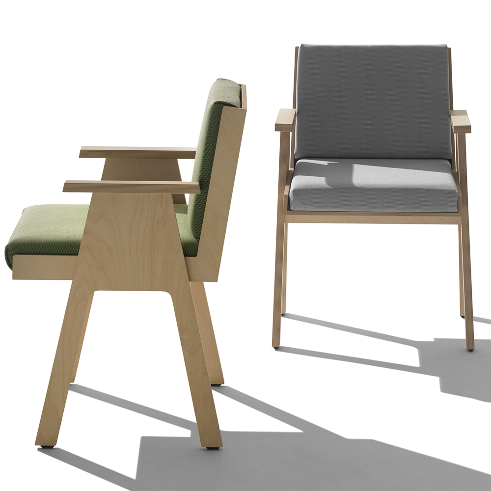 Club 44 Chair designed by Angelo Mangiarotti manufactured by AgapeCasa