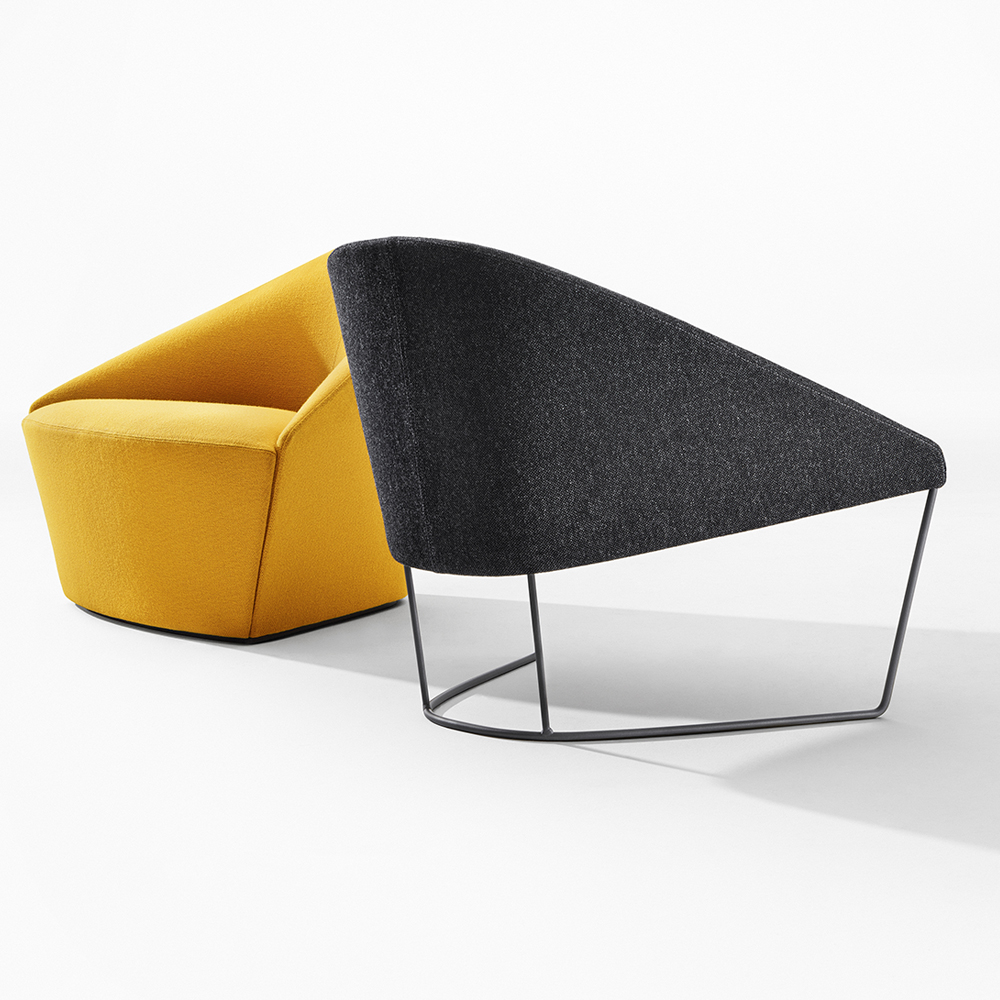 Colina Lievore Altherr Molina Arper modern lounge chair