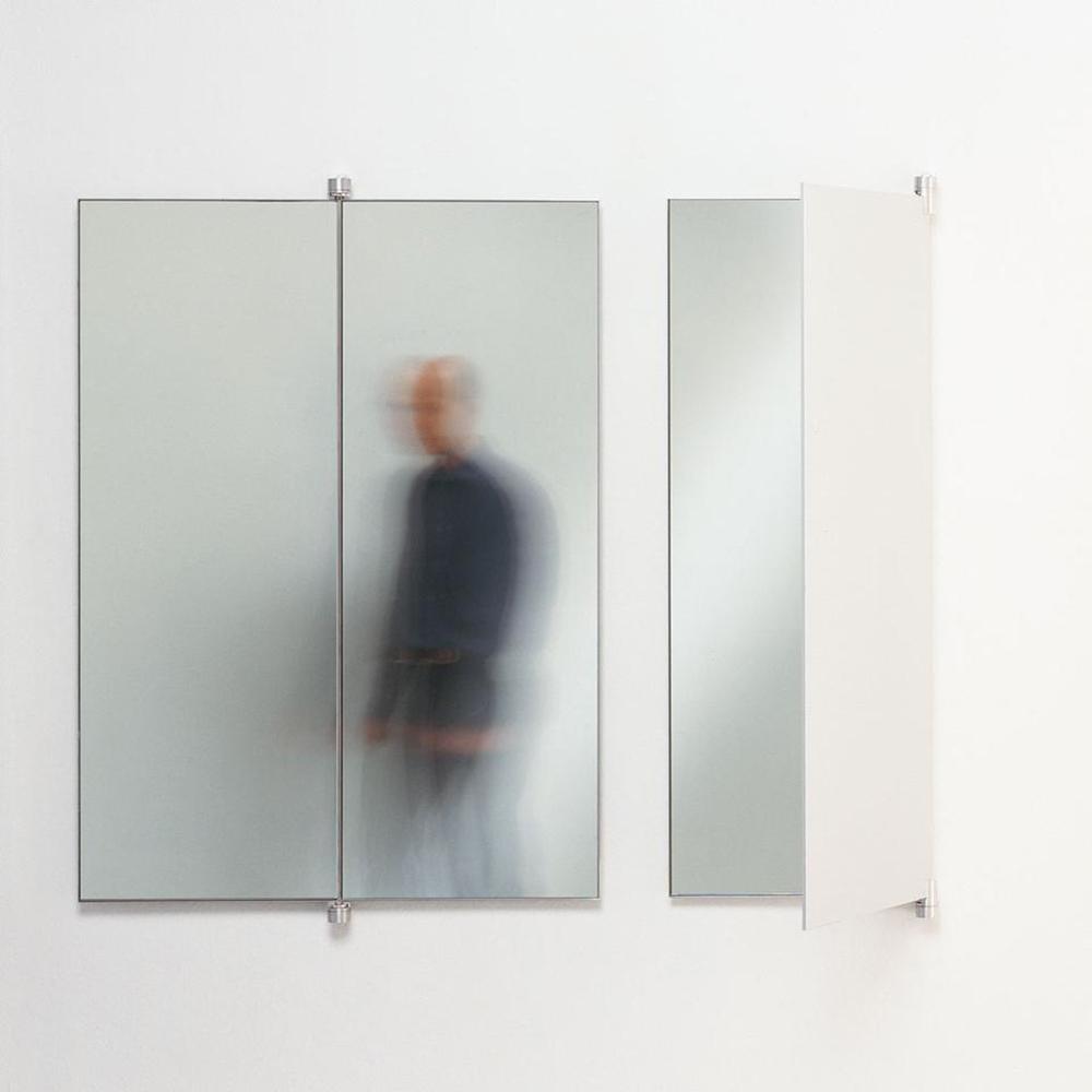 Book mirror designed by Petra Runge for De Padova