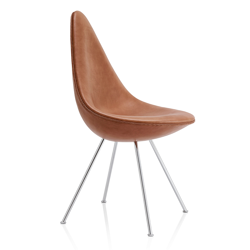 Drop chair arne jacobsen fritz hansen suite ny for Arne jacobsen chaise