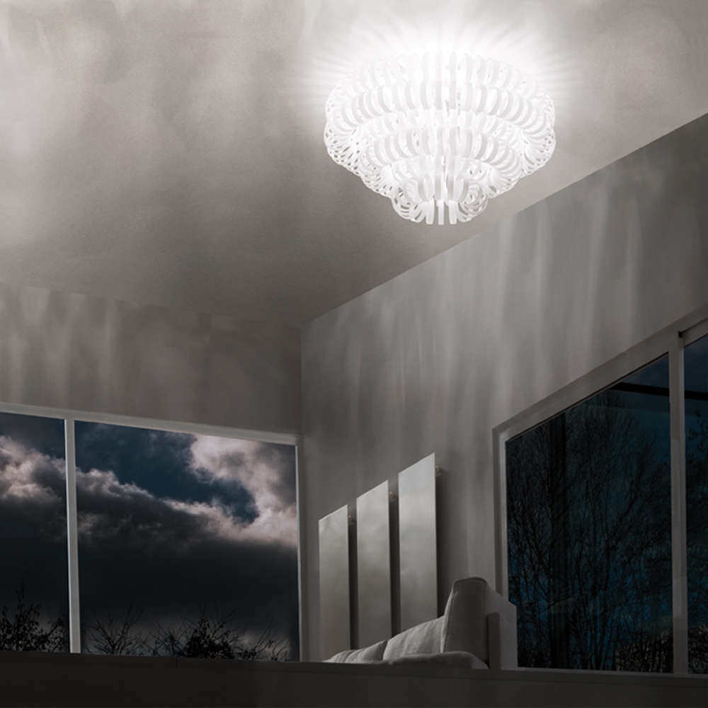 Ecos Ceiling light designed by Renato Toso, Noti Massari & Associates for Vistosi